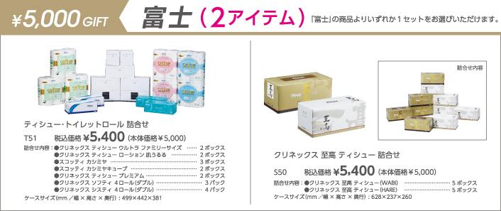 5000円 富士