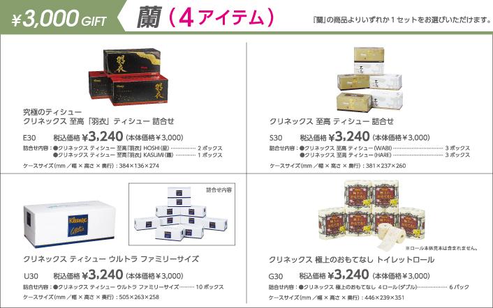 3000円 蘭